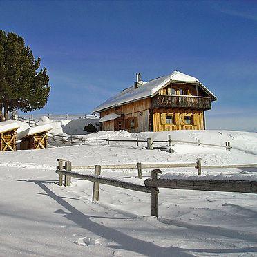 Außen Winter 8, Berghütte Weissmann, Bad Kleinkirchheim, Kärnten, Kärnten, Österreich