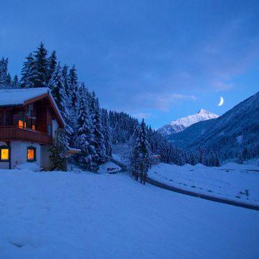 Außen Winter 29, Berghütte Häusl, Tux, Zillertal, Tirol, Österreich