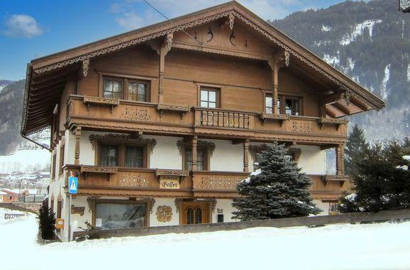 Außen Winter 38 - Hauptbild, Chalet Gasser, Uderns, Zillertal, Tirol, Österreich