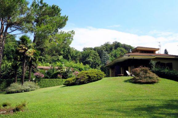 Außen Sommer 1 - Hauptbild, Residenz Rosa, Porto Valtravaglia, Lago Maggiore, Lombardei, Italien