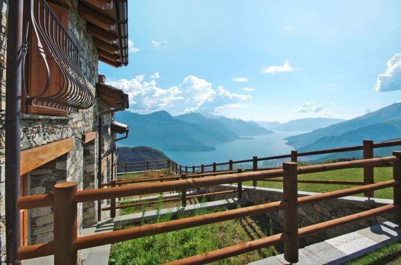 Außen Sommer 1 - Hauptbild, Rustico le Baite di Bodone, Gravedona, Comer See, Lombardei, Italien