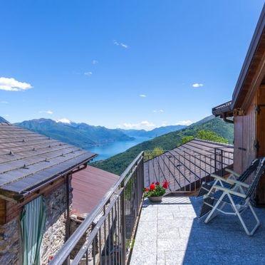 Außen Sommer 2, Rustico Rinaldo, Gravedona, Comer See, Lombardei, Italien