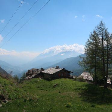 Außen Sommer 2, Rustico Baulin, Avise, Aostatal, Aostatal, Italien