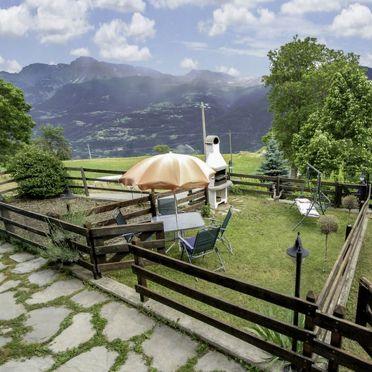 Außen Sommer 2, Maison Meynet, Sarre, Aostatal, Aostatal, Italien