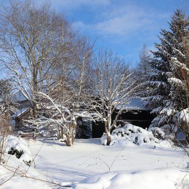 Außen Winter 33, Berghütte Menardi, Frankenburg am Hausruck, Oberösterreich, Oberösterreich, Österreich