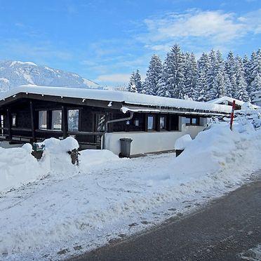 Außen Winter 14, Jagdhütte Lärchenbichl, Sankt Johann in Tirol, Tirol, Tirol, Österreich