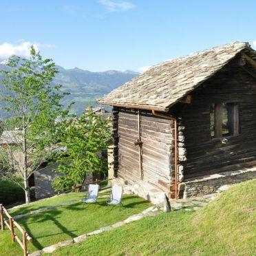 Außen Sommer 2, Chalet les Combes, Introd, Aostatal, Aostatal, Italien