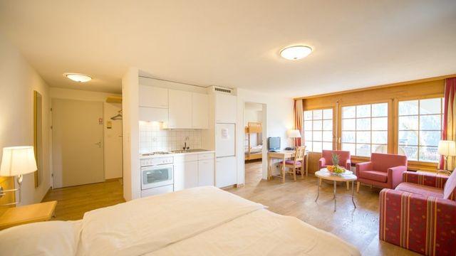 Dreizimmer-Apartment